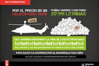 Rajoy desmantela el futuro de la cooperación internacional