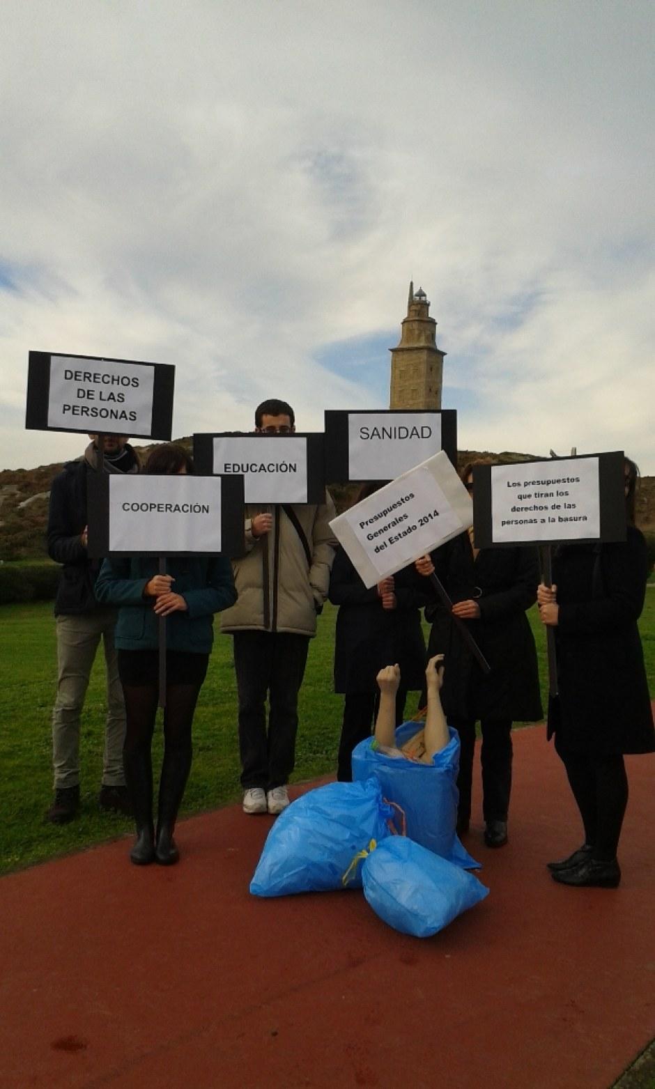 A Coruña #PresupuestosBasura
