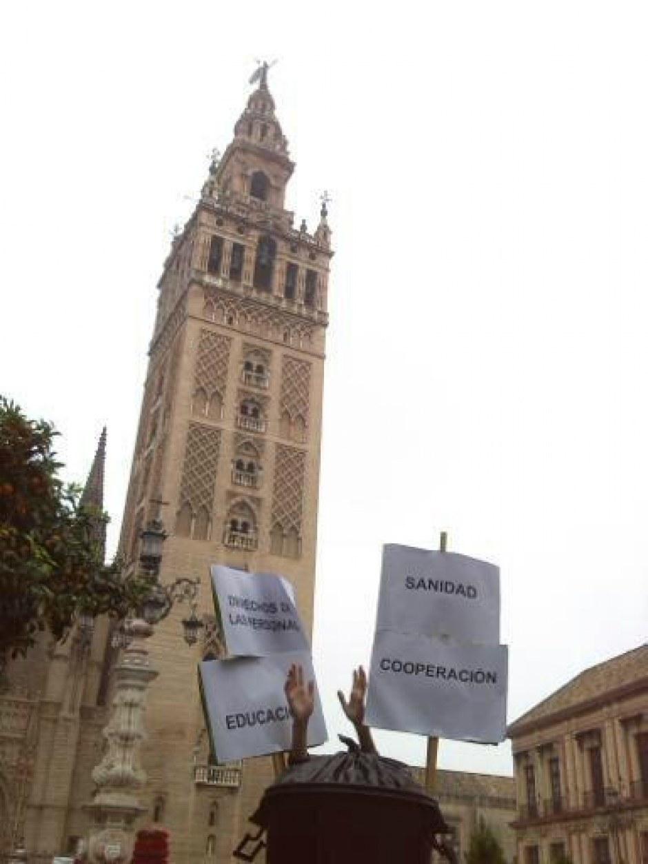 #PresupuestosBasura desde Sevilla