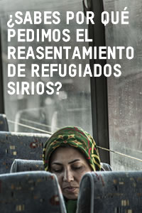 Reasentamiento refugiados sirios