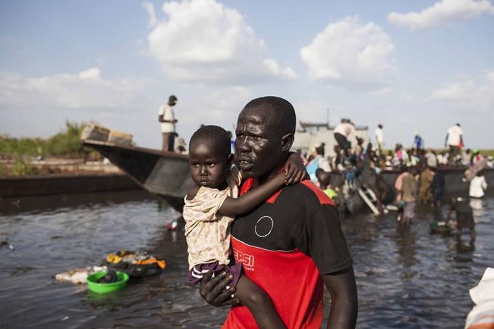 Sudán del Sur. Haz un donativo. Tu puedes cambiar vidas