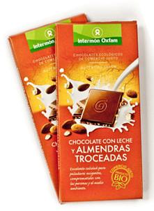 Xocolata amb llet Comerç just