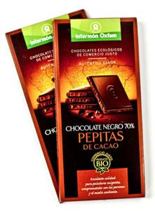 Xocolata Comerç Just - Intermón oxfam